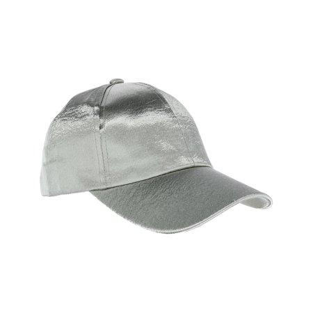 CTM - Women s Textured Satin Baseball Cap - Walmart.com 802d6a8493ec