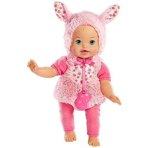 Little Mommy Dress Up Cuties Fluffy Bunny Doll