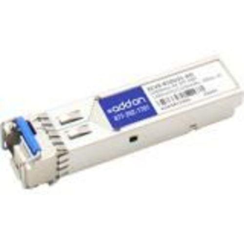Addon Ciena Xcvr-b10u31 Compatible Taa Compliant 1000base-bx Sfp Transceiver (smf, 1490nmtx/1310nmr - image 1 of 1