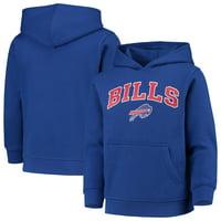 Youth Royal Buffalo Bills Team Fleece Pullover Hoodie