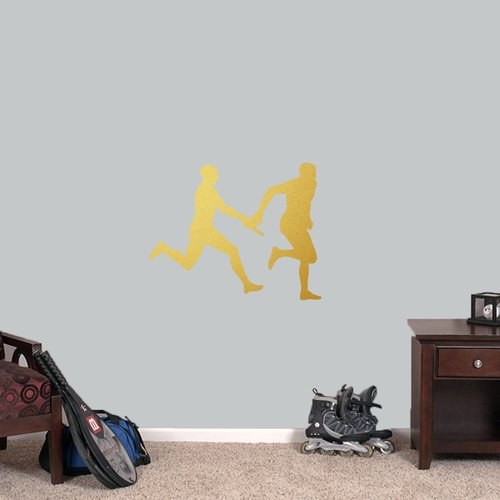 Harriet Bee Relay Runners Wall Decal