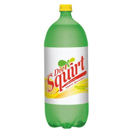 Diet Squirt Zero Calorie Naturally Flavored Citrus Soda, 2 L -  10001436