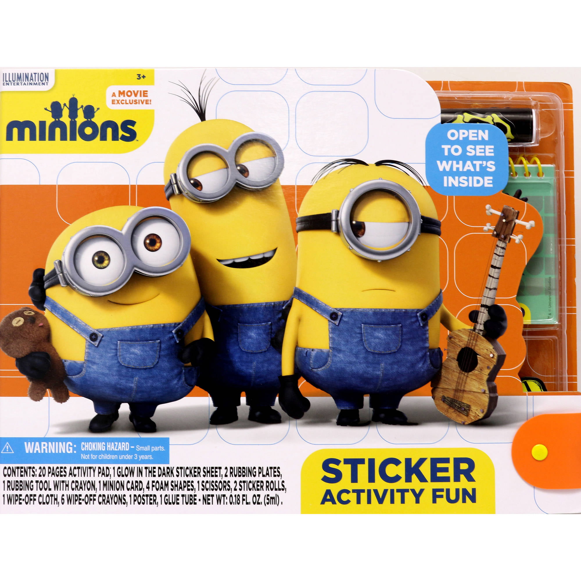 Minions Sticker Activity Fun