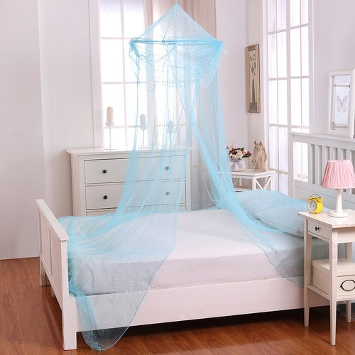Casablanca Kids Raisinette Kids Collapsible Hoop Sheer Bed Canopy