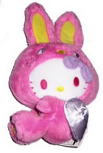 Hello Kitty Fuchsia Bunny Rabbit Plush FU2938 by FuRyu