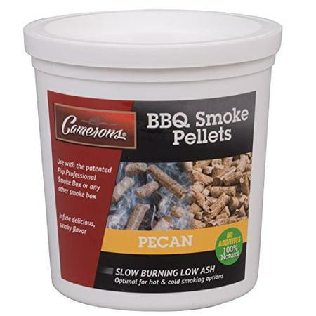 Bbq Bucket (Camerons Smoking Wood Pellets (Pecan)- Kiln Dried BBQ Pellets- 100% All Natural Barbecue Smoker Chips- 1 Pint)