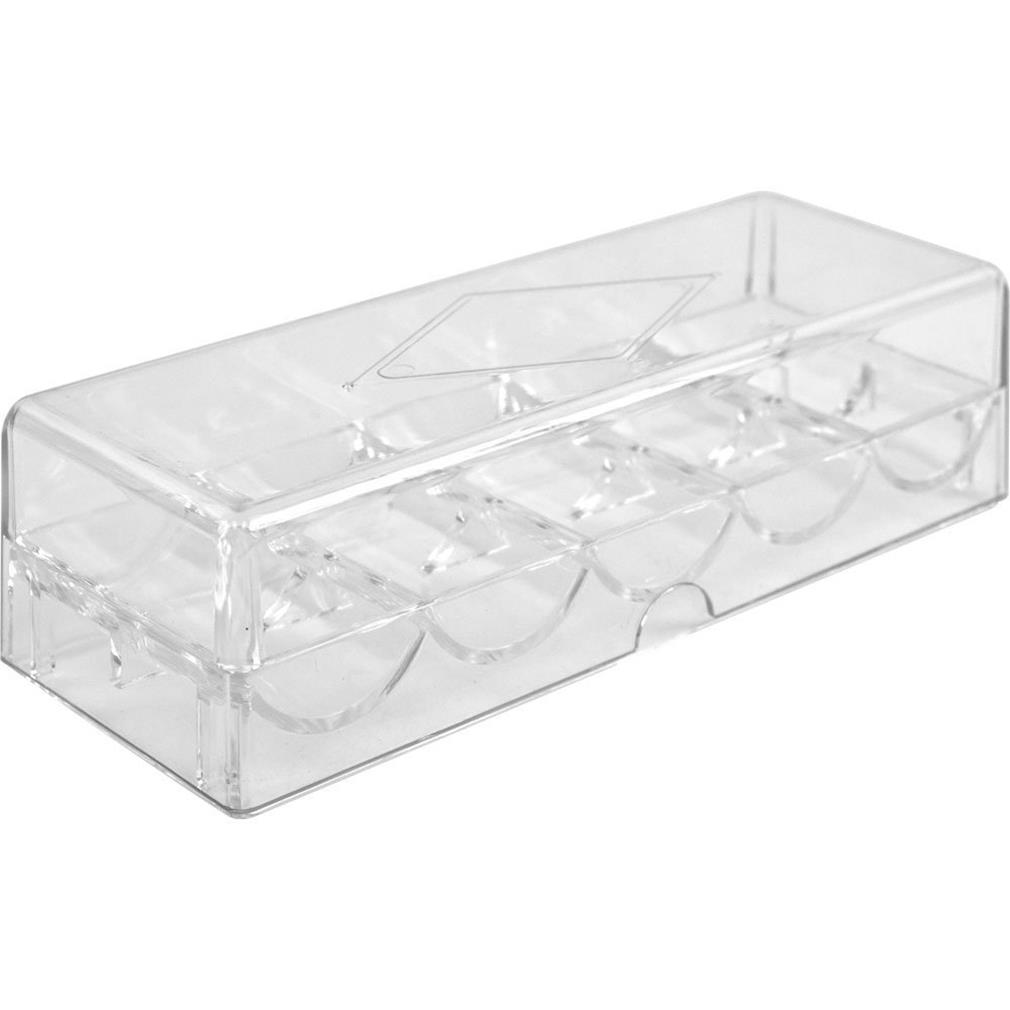 Acrylic Chip Tray WITH Lid by BryBelly