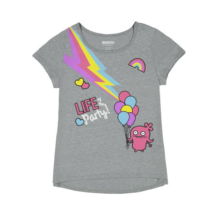 Glam Girl T-shirts - Ugly Dolls Graphic T-Shirt (Little Girls & Big Girls)