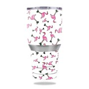 MightySkins Protective Vinyl Skin Decal for Ozark Trail 30 oz Tumbler wrap cover sticker skins Cool Flamingo