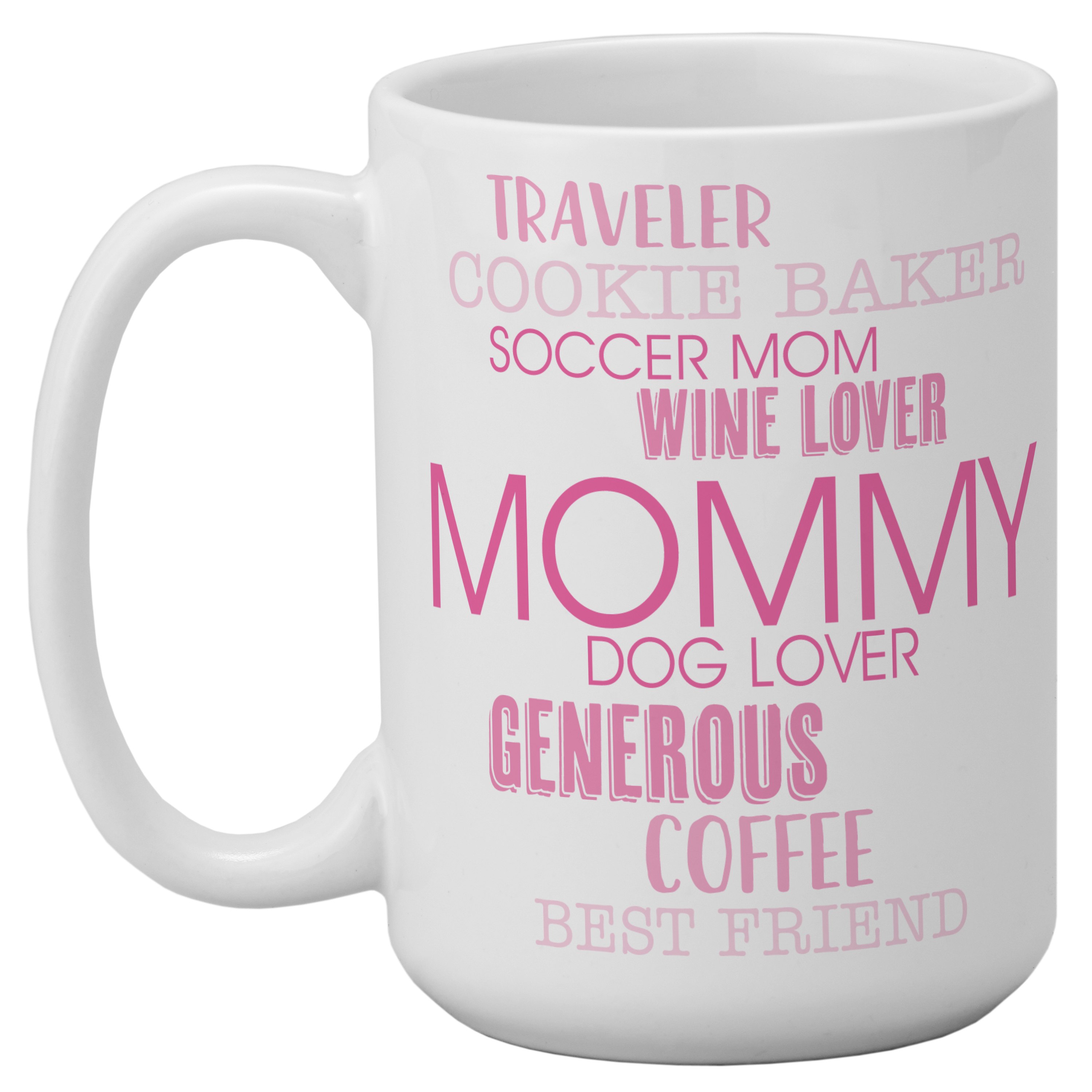 Personalized Words That Define Mug - Blue-Available in 5 Colors