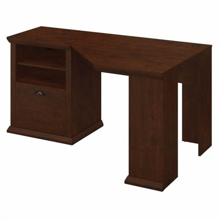 Bush Yorktown 60W Corner Desk in Antique Cherry - image 3 de 11