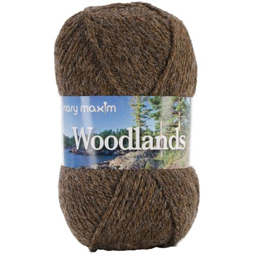 Woodlands Yarn-Brown Heather
