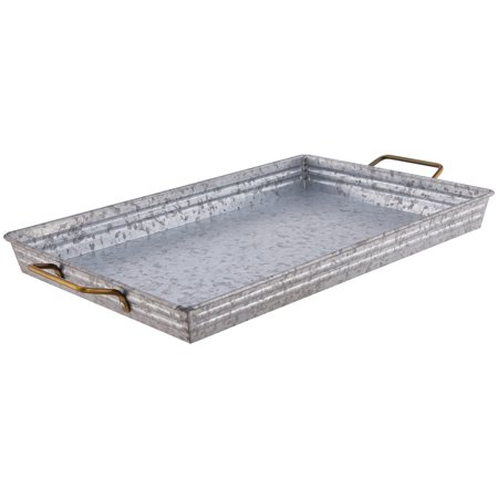 Better Homes & Gardens Galvanized Rectangle Tray