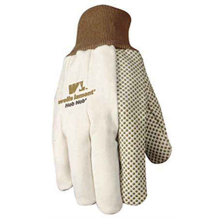 Wells Lamont Jersey Work Gloves with Hob Nob Dots, Wearpower, Basic, One Size 310