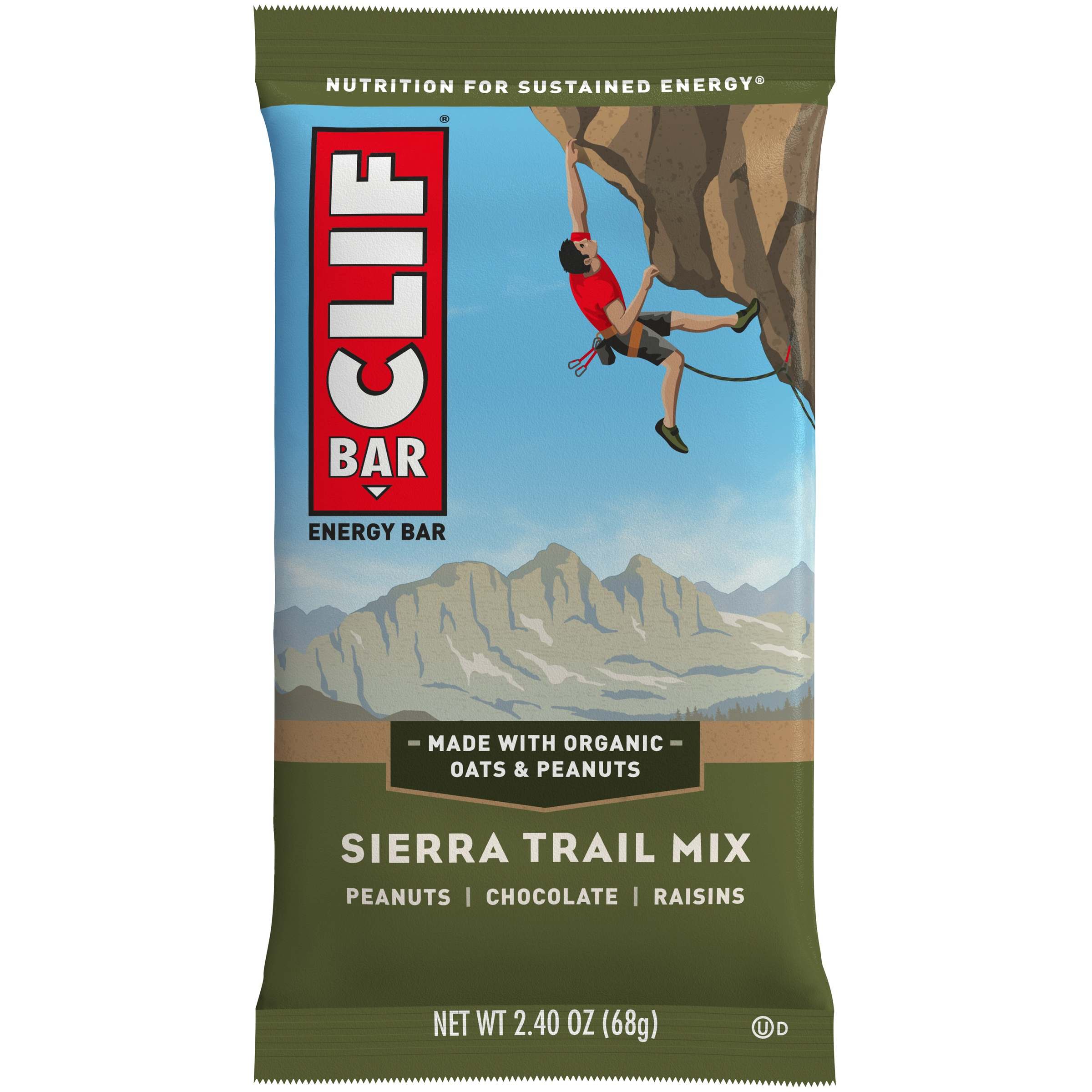 Clif Bar® Sierra Trail Mix Energy Bar 2.4 oz. Wrapper