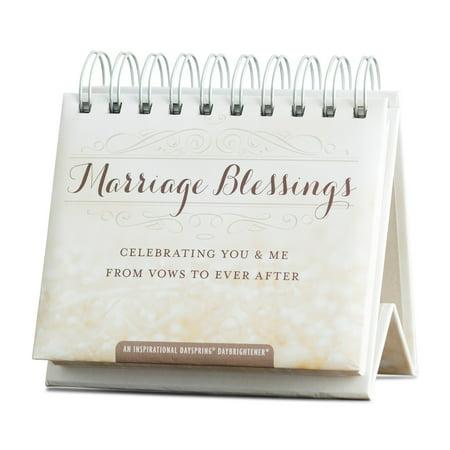 Blessings Perpetual Calendar - DaySpring  -  Marriage Blessings, 365 Day Perpetual Calendar