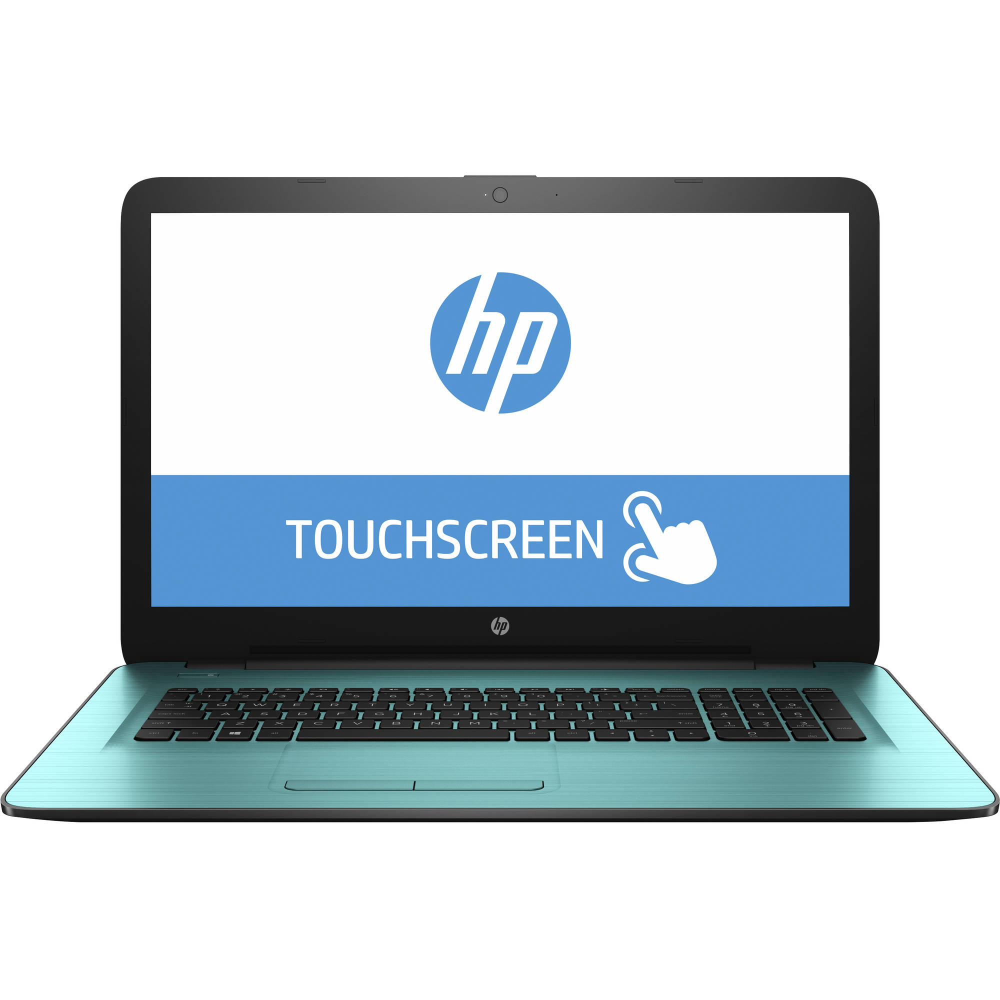 "Refurbished HP 17-x008ds 17.3"" Laptop, Touchscreen, Windows 10, Intel Pentium N3710, 8G RAM, 1TB Hard Drive"