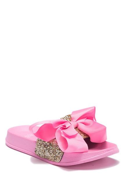 JoJo Siwa Girls' Soccer Slide Sandals