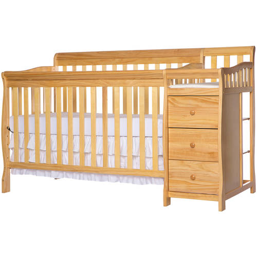 Dream On Me, 5-in-1 Brody Convertible Crib With Changer, Natural
