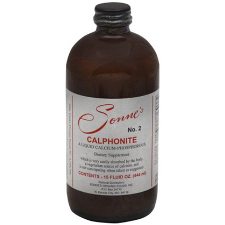 Sonnes Calphonite Liquid Calcium Phosphorus, 15 OZ