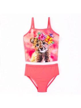 OP Graphic Tankini Swimsuit (Toddler Girls)