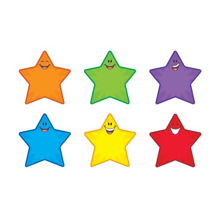 - Star Smiles Classic Accents Variety Pack, 6 Designs, 5-1/2