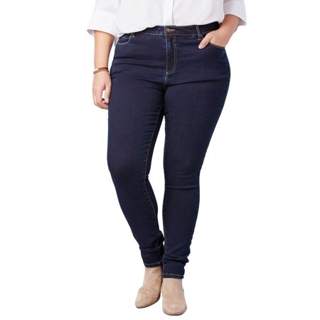 Woman Within Plus Size Petite Perfect Skinny Jean