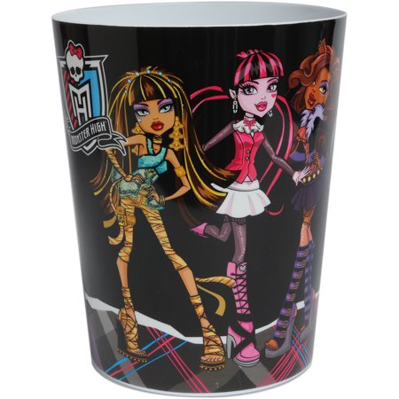 Monster high cool ghouls waste basket - Cool wastebaskets ...