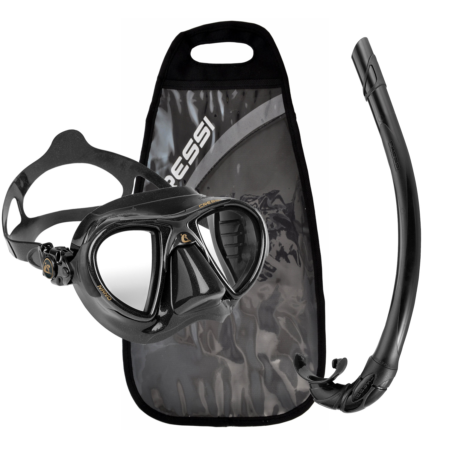 Click here to buy Cressi Nano Mask, Corsica Snorkel Package.