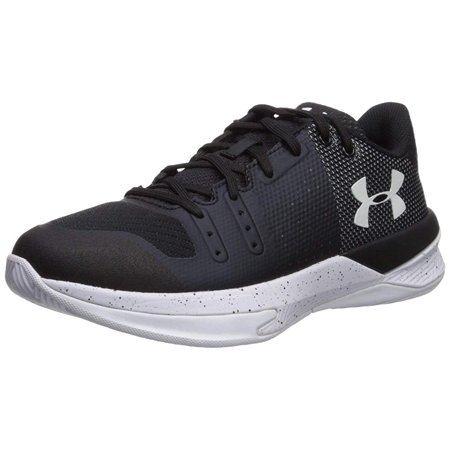 Best Volleyball Shoes - Under Armour Women's Block City Volleyball Shoe, Black, 6.5 B(M) US