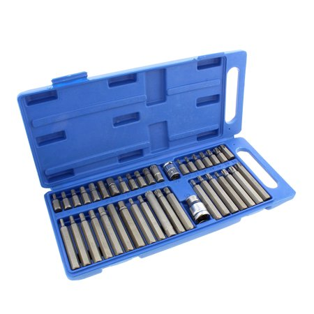 ABN | Combination Hex, Torx, and XZN Triple Square Socket Bit Set – 40 Piece