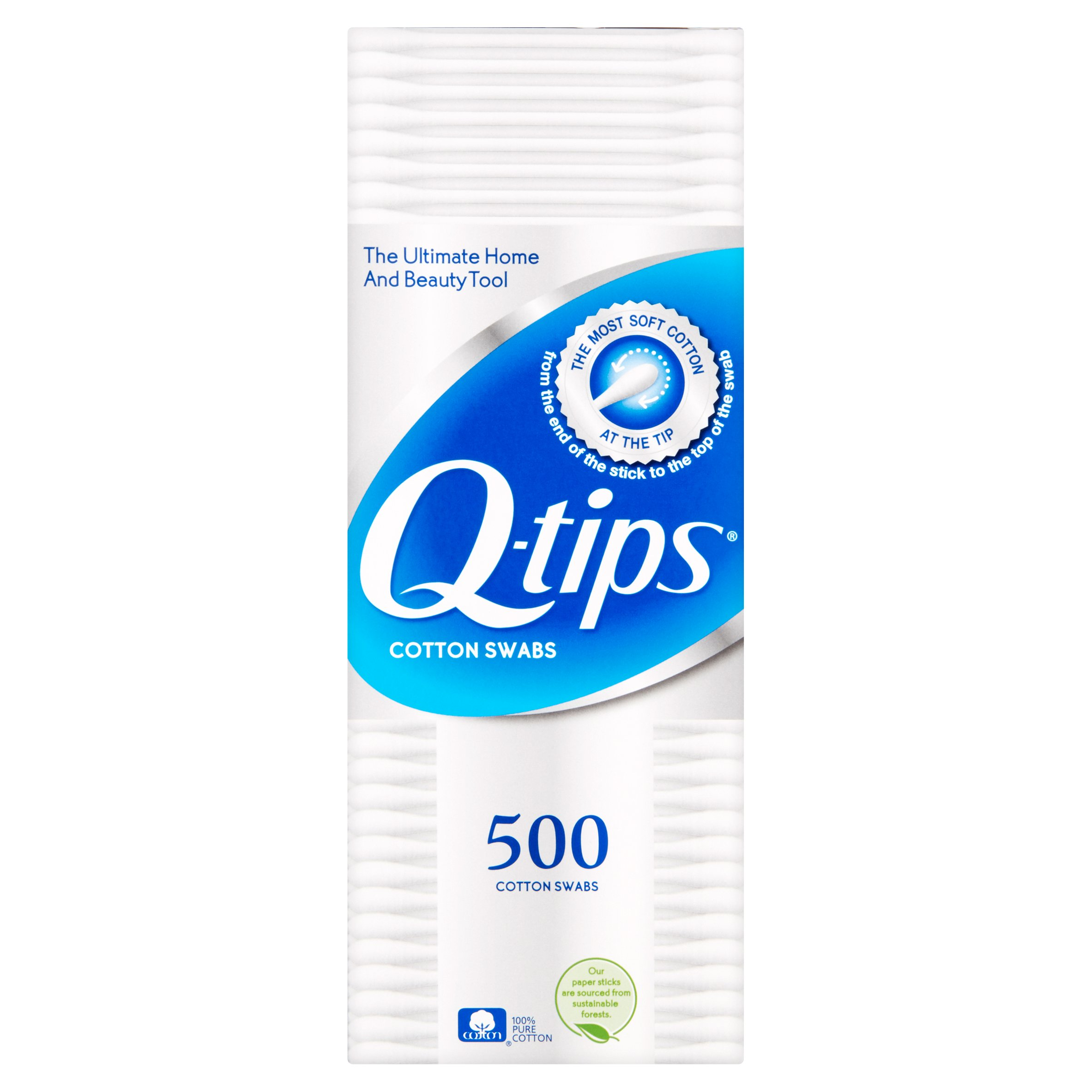 Q-tips Cotton Swabs 1000 ct