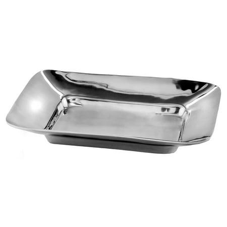 Aluminum Square Platter (Aluminum Square Border Tray)