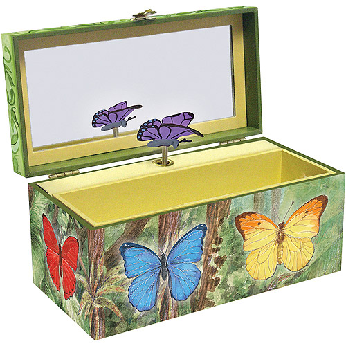 Butterfly Musical Treasure Box