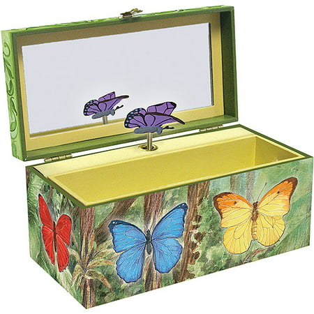 Music Treasure Box - Enchantmints Butterfly Musical Treasure Box