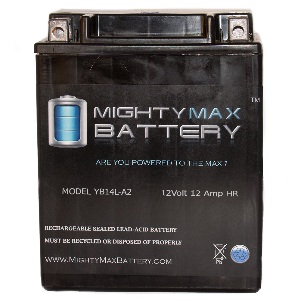 YB14L-A2 12V 12Ah Maintenance Free SLA Motorcycle Battery