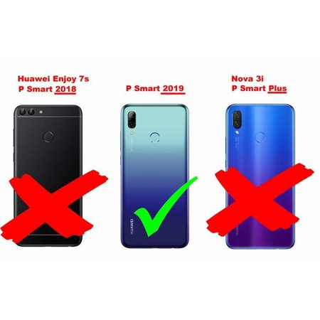 Cadorabo Case for Huawei P SMART 2019 cover - Shockproof and Scratch Resistant TPU Silicone Cover