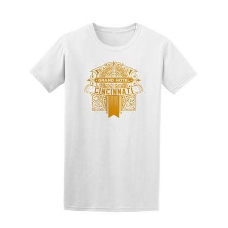 Golden Logo Cincinnati Hotel Tee Men