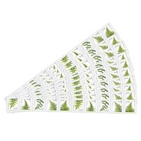 Ferns 10 Strips of 10 USPS Forever Postage Stamps featuring 5 Different Designs of Ferns (100 Stamps)