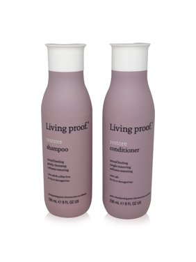 ($58 Value) Living Proof Restore Shampoo and Conditioner Each 8 oz. Combo Pack