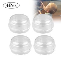 4Pack Stove Knob Covers,Clear Safety Children Kitchen Stove Gas Knob Covers (Transparent)