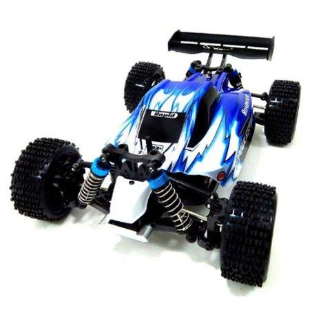 Ofna 1/8 Buggy (WL Toys 4WD Off-Road Buggy Racing Car RC Radio Control - Blue RC Car R/C Car Radio Controlled Car )