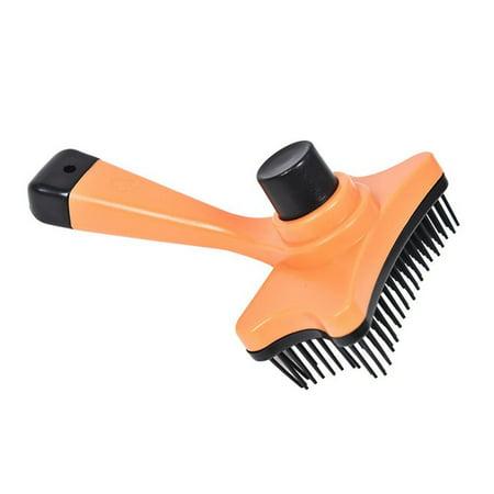Pet Dog Cat Grooming Brush Self Hair Fur Slicker Cleaning