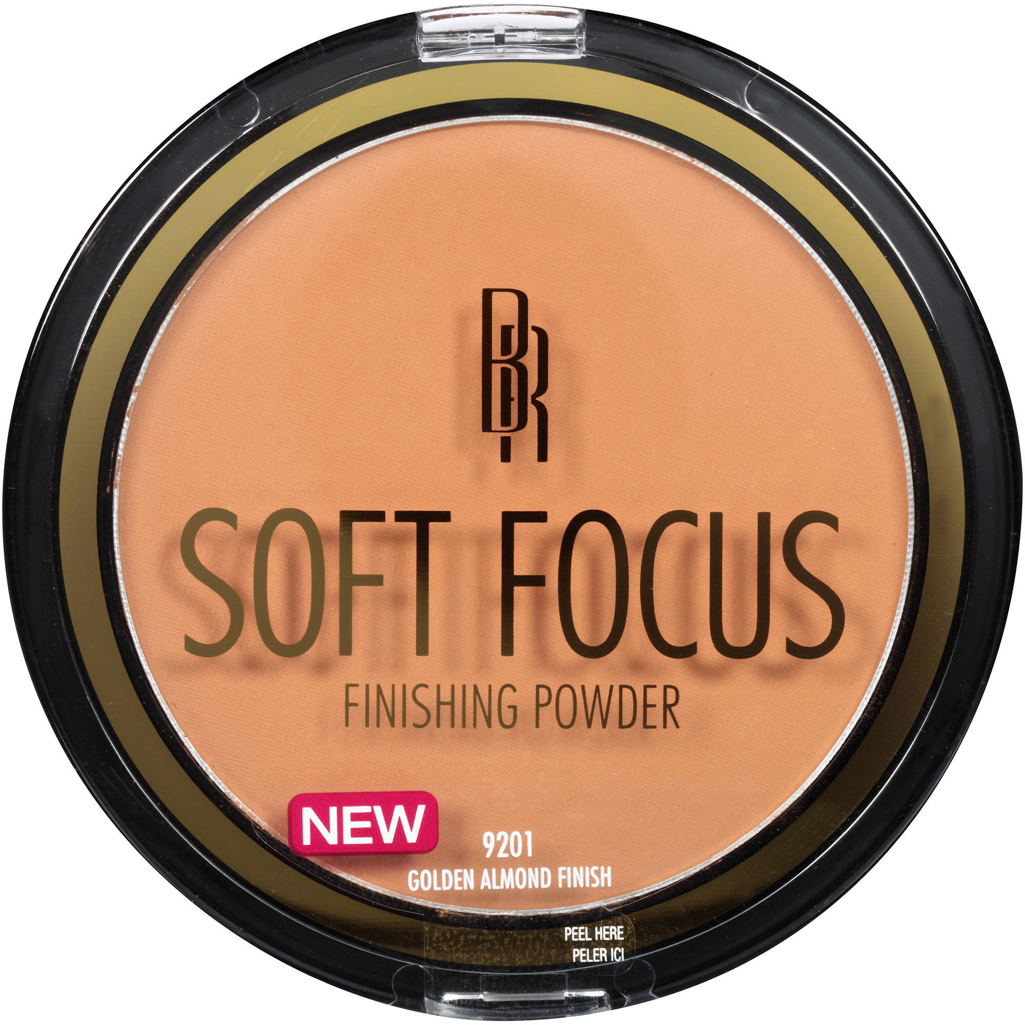 Black Radiance True Complexion Soft Focus Finishing Powder, 9201 Golden Almond Finish, 0.46 oz