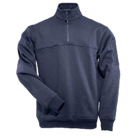 5.11 Tactical 5-72314T7204XL 1/4 Zip Job Shirt, Tall, Fire Navy, 4X-Large