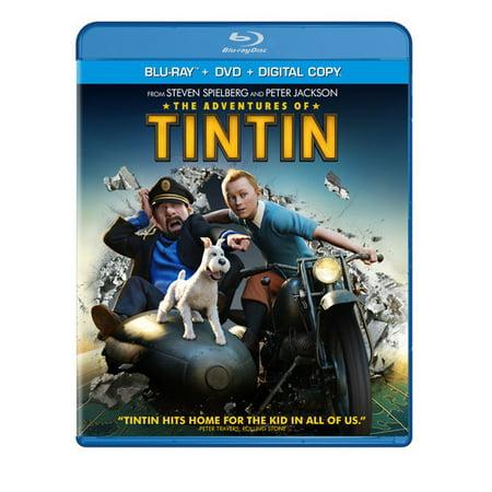 The Adventures Of Tintin  Blu Ray   Dvd   Digital Copy