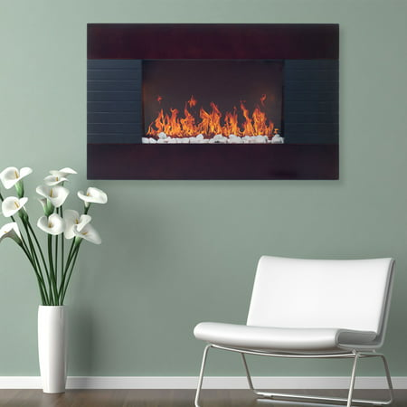 Buy Even Glow Electric Fireplace Heater at Walmart.com