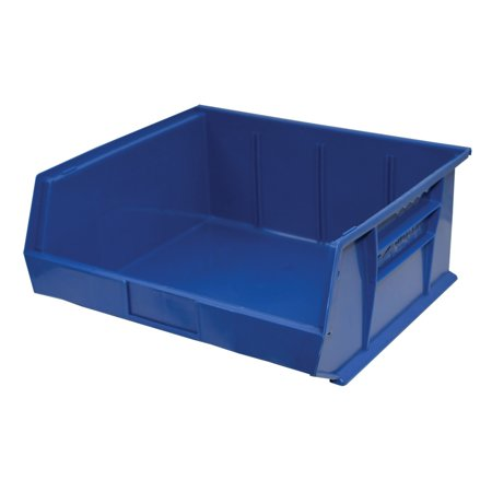 Storage Max Case of Stackable Blue Bins, 14