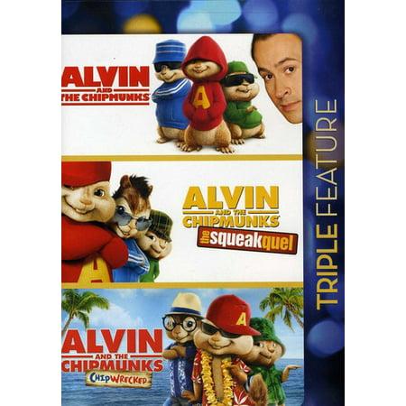 Alvin and the Chipmunks / Alvin and the Chipmunks: The Squeakquel / Alvin and the Chipmunks: