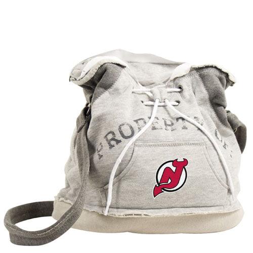 Littlearth NHL Hoodie Duffel Grey/New Jersey Devils